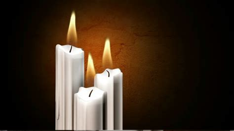 candle burning computer animation hd stock video    framepool stock footage