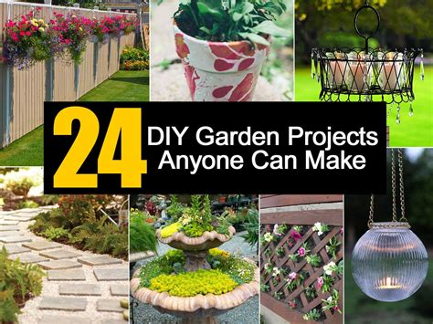 Gardening Project Ideas 24 Diy Garden Projects Anyone Can Make