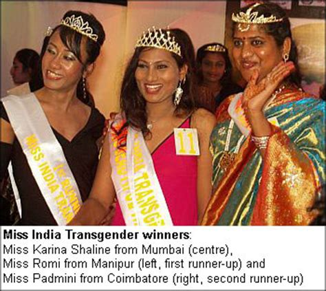 contest in india look miss india transgender contest