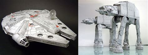 Wars Papercraft Models - paper wars models