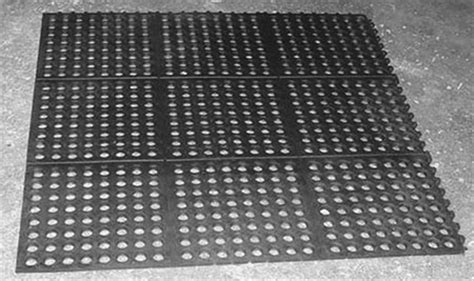perforated wash stall mats