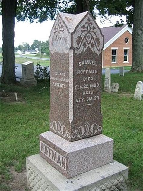 Ohio County Records 1840 2001 Samuel Hoffman Lucinda H Dennis Marriage Family Genealogy 27 April 1845 Richland