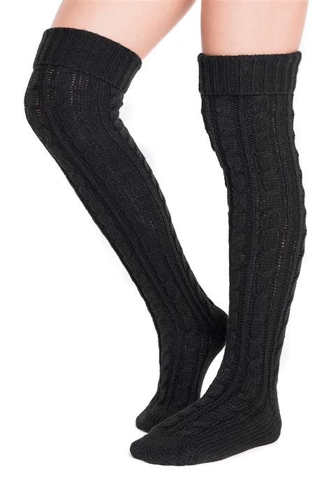 cable knit knee socks muk luks cable knit the knee socks nordstrom rack