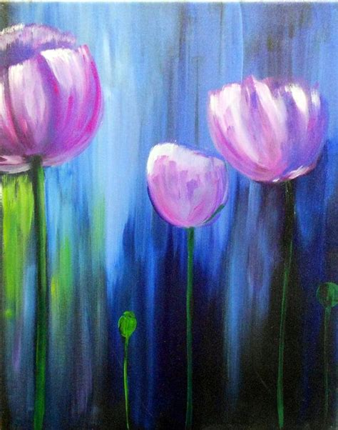 acrylic flower 295 best images about easy acrylic painting ideas on
