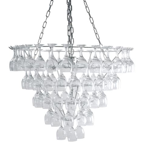 How To Make A Wine Glass Chandelier Vino Xl Wine Glass Chandelier Drinkstuff