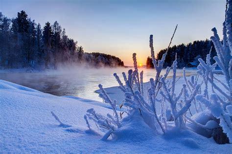 imagenes invierno hd amanecer de sol en invierno ver fotos hd de hermosas