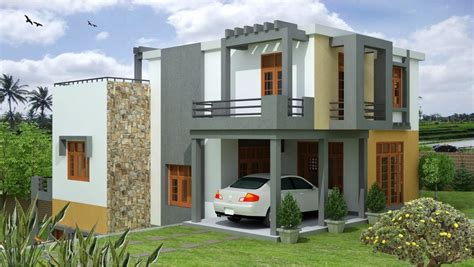 modern home design sri lanka malabe house plan singco engineering dafodil model house