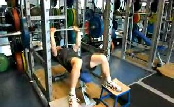 elevated bench press low back pain archives