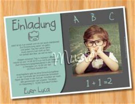 Muster Einladung Karte Einladungskarten Einschulung