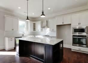 White Kitchen Dark Island White Kitchen Cabinets With Dark Island Cabinet Gallery