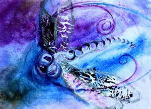 abstract dragonfly paintings
