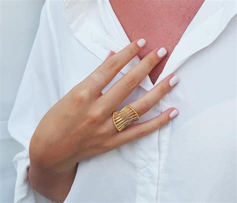 Big Rings by Gold Statement Ring Big Rings Vintage Rings Fashion Rings