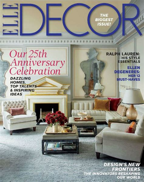 house decor magazine elle decor magazine digital subscription