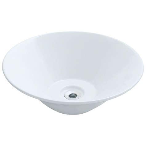 mr direct vessel sinks mr direct porcelain vessel sink in white v220 w the home