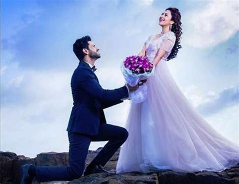 Wedding Shoot Pics by Pre Wedding Photo Shoot Of Divyanka And Vivek