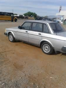 volvo 240 project 1986 volvo 240 gl project or parts car for sale photos