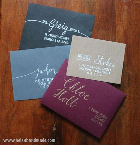 Wedding Invitation Envelopes by 25 Best Ideas About Wedding Invitation Envelopes On