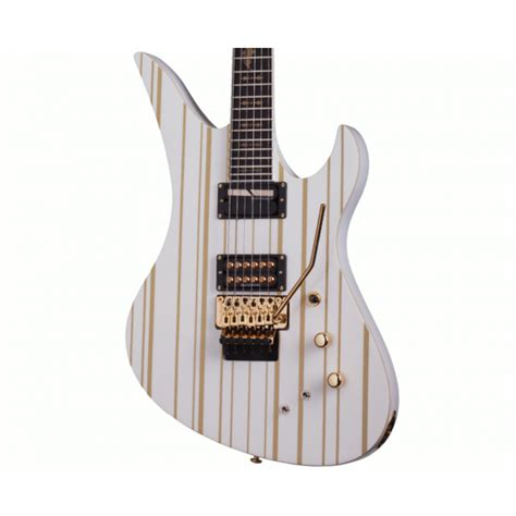 Gitar Shecter Syn Series 1 schecter artist series synyster gates custom white guitar
