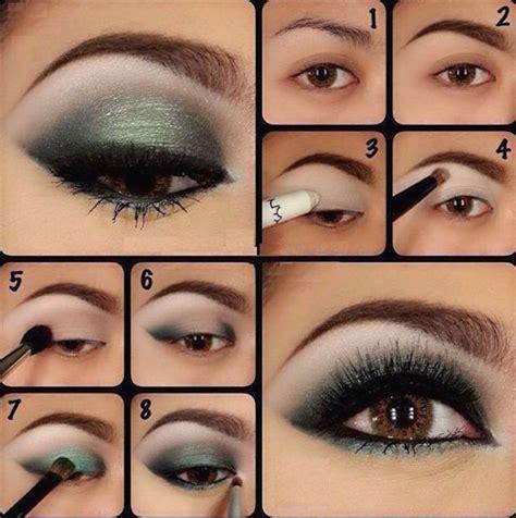 tutoriales de maquillaje para noche de labios y ojos tutoriales de maquillaje en 5 colores diferentes belleza