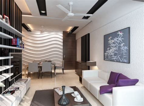 high end residential interior design project at borivali