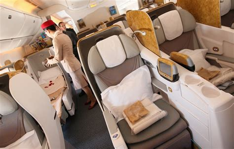 emirates business class peaceful night in emirates business class the luxe insider