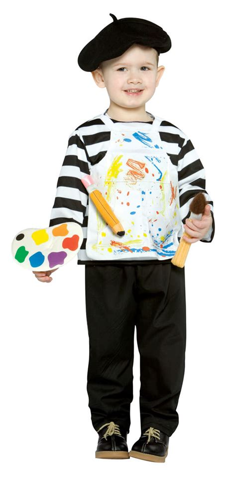 house painter costume toddler artist costume toddler funny halloween costumes