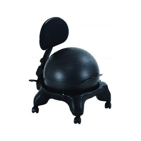 yoga ball desk chair office fitness balance ball chair with adjustable backrest