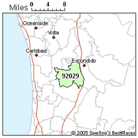 zip code map escondido ca best place to live in escondido zip 92029 california