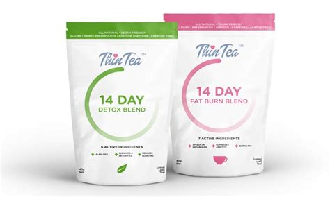 Thin Tea Detox Plan by Thin Tea Detox And Burn Groupon
