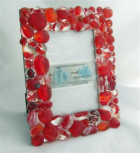 Handmade Photoframes - our new handmade photo frames wight island glass