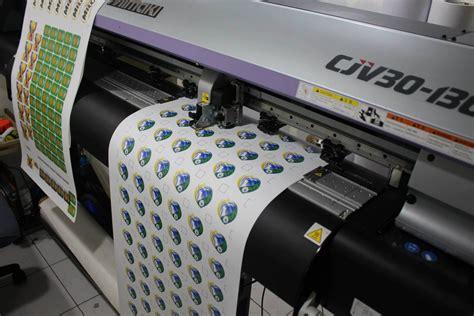 Mesin Printer Sticker Vinyl mimaki print cut series tees prints