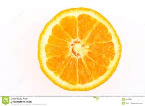 Half cut orange royalty free stock photo image 8815845