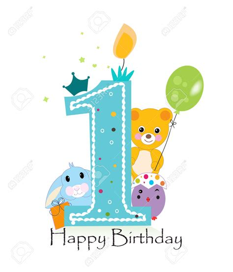 happy 1st birthday images clipart happy 1st birthday boy bbcpersian7 collections