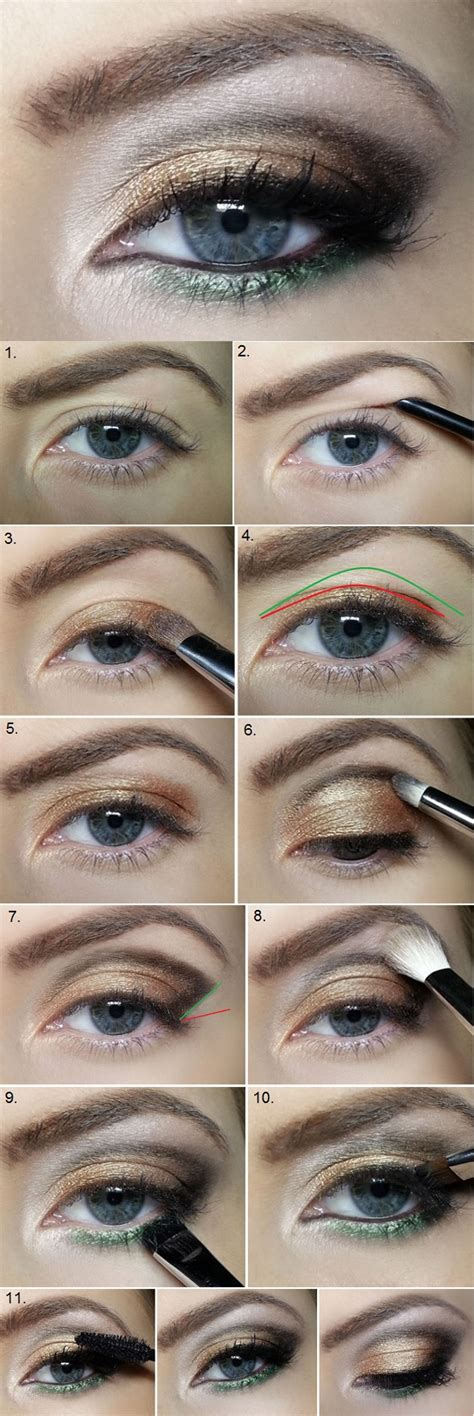 eyeliner tutorial for droopy eyes correct sagging eyelids with this amazing makeup idea