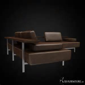 Armchair Lounge 3d Rolf Benz Dono Sofa High Quality 3d Models