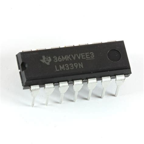 Kr04536 Lm339 Single Supply Comparators 25 lm339 instruments differential comparator 10 pack oddwires