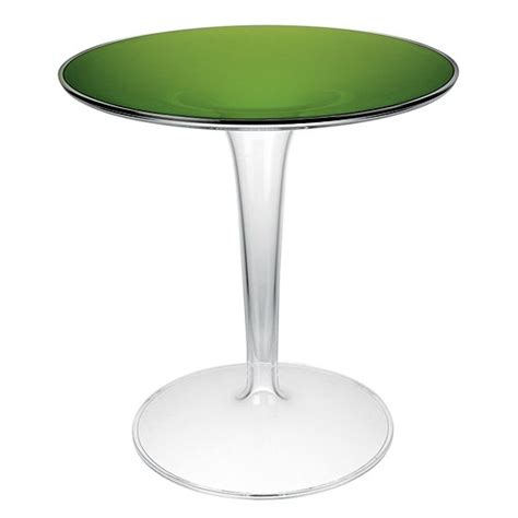 tip top pedestal side table from kartell at