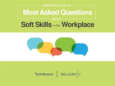 20 most asked questions around soft skills