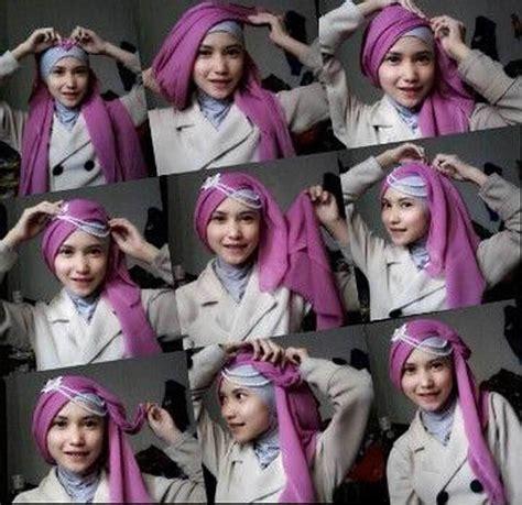 tutorial hijab paris untuk acara wisuda tutorial hijab untuk wisuda mudah cara memakai hijab