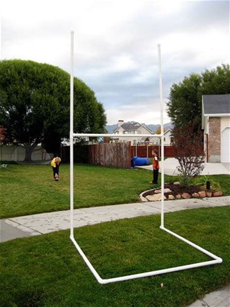 How To Make A Football Field Out Of Paper - diy football field goal kid stuff