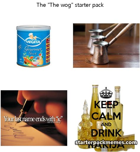 Wog Memes - the best of starter pack memes 187 the wog