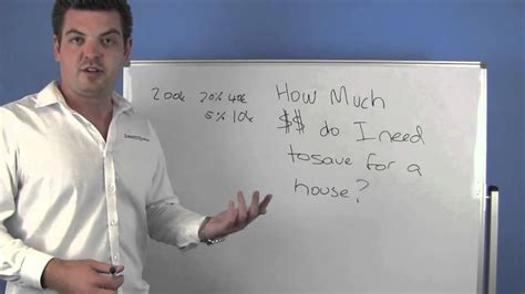 How Much To Save For A House by How Much Money Do I Need To Save For A House