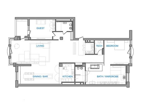 loft style apartment floor plans modern loft apartment in kyiv open space minimalist design
