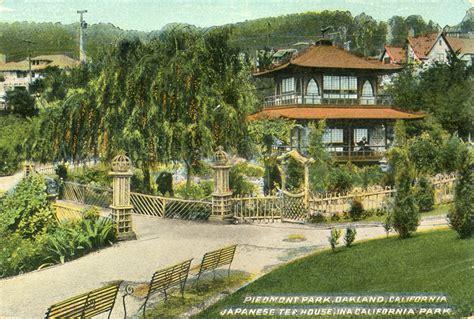 Oakland Tea House piedmont park piedmont california postcards photos
