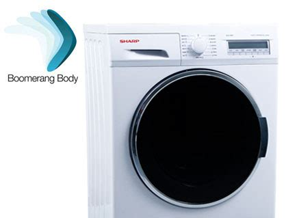 Mesin Cuci Sharp Boomerang Series es fl1290g mesin cuci berteknologi tinggi hanya sharp