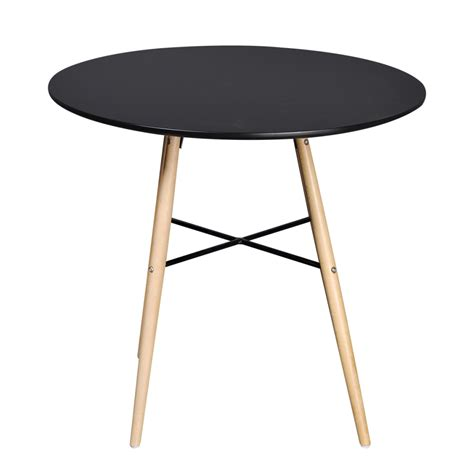 tavolo da pranzo rotondo articoli per tavolo da pranzo rotondo nero opaco vidaxl it