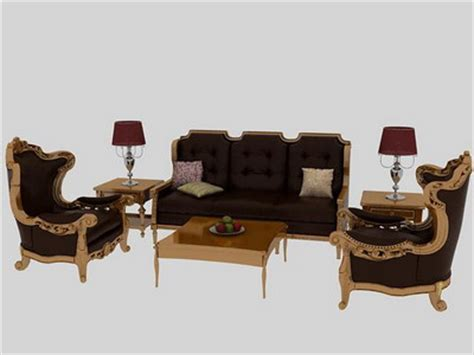 furniture model 3 unpholstered sofa suite