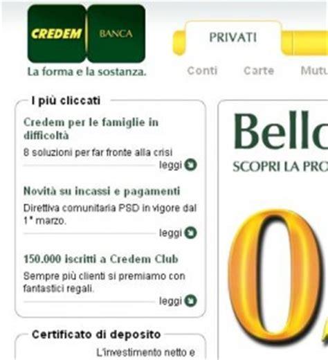 Credem Banca Mutui by Finanziamento A Tasso Fisso Da Credem