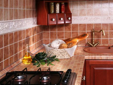 tiled kitchen countertops tiled kitchen countertops hgtv