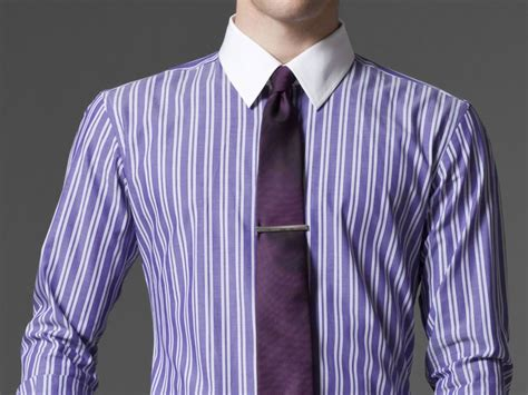 Custom Shirts Without Meeting The Tailor by Tailored Shirts Without Leaving Chair Indochino Purple